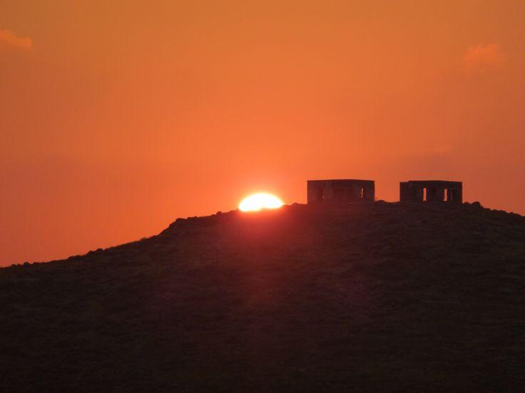 Vourkari #Kea island, Cyklades, Greece. Photo by Fairy di Venti ,Sunset in Kea, Summertime