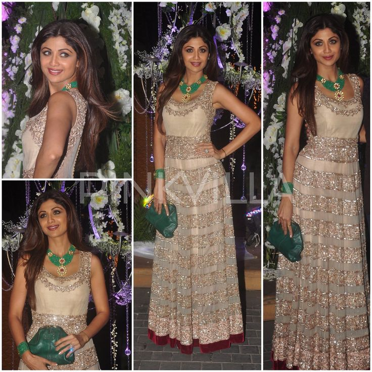 Shilpa Shetty in Manish Malhotra.