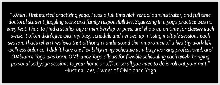 OMbiance Yoga story | private yoga | home yoga | personal yoga | Calgary | yoga retreat | yoga retreats | Calgary yoga