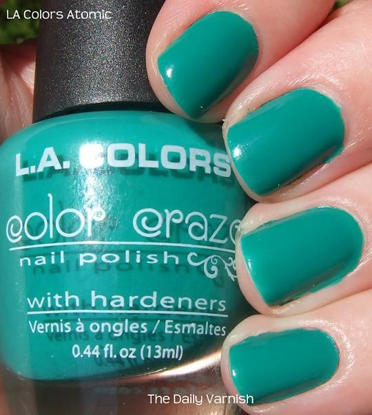 L.A. Colors Nail Polish Can Be Found At Dollar Tree And It
