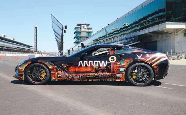 Ball, Arrow technology may let paralyzed race-car driver hit 100 again