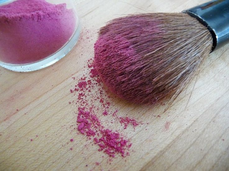 home made blush and other home made makeup ideas
