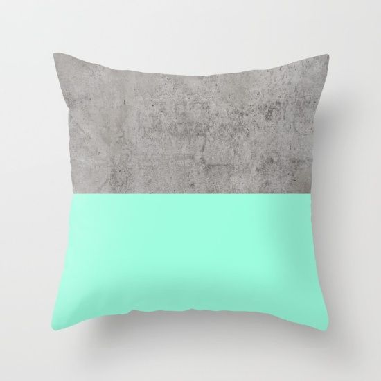 Buy Sea on Concrete Throw Pillow by cafelab. Worldwide shipping available at Society6.com. Just one of millions of high quality products available.