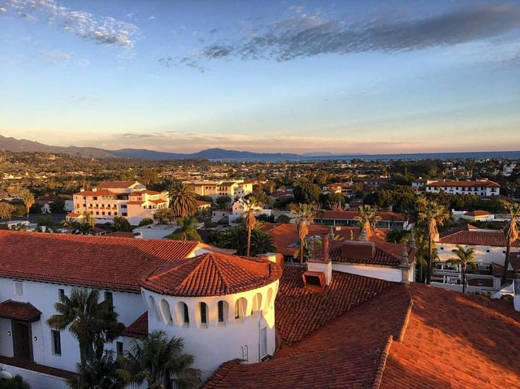 Get a fresh perspective from the top of Santa Barbara County Courthouse.