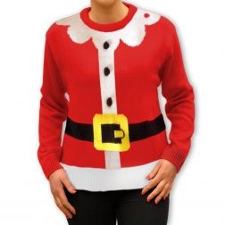 Strój Pani mikołajowej? #Ciepły i miły #sweter, idealny na świąteczne wieczory. http://swetryswiateczne.pl/pl/