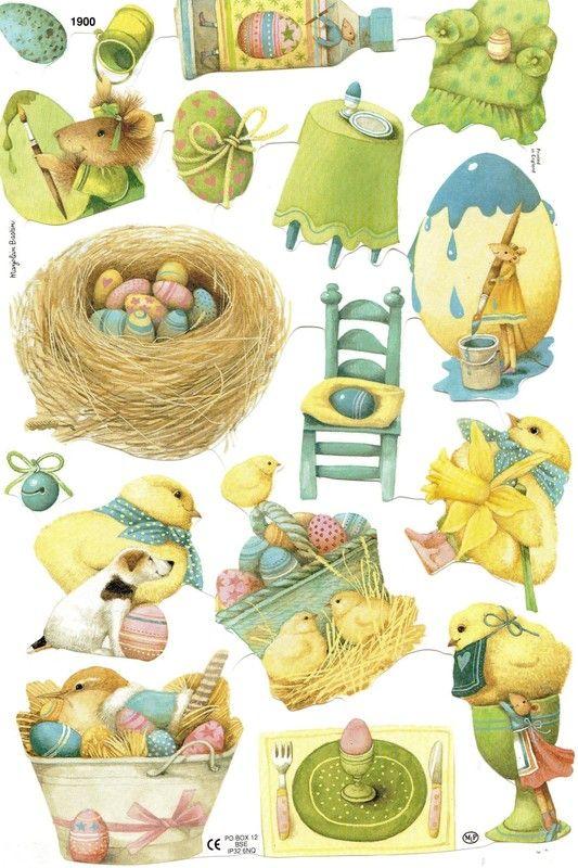 Décorations de Päques de Vera la souris   de Marjolein Bastin