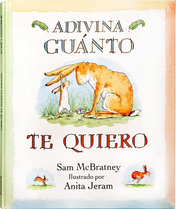 Adivina cuánto te quiero, un precioso título para un cuento infantil aún más bonito :)  #niños