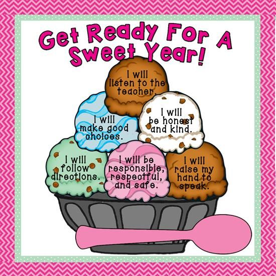 """""""Get Ready For A Sweet Year!"""" Back-to-School Bulletin Board"""