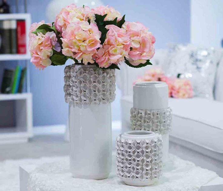 jarrones originales blanco decoracion beltran tu tienda