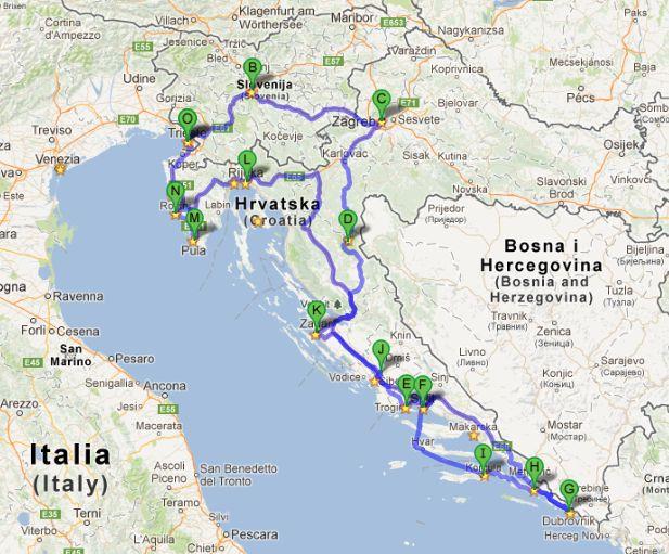RUTA EN COCHE POR CROACIA DE UNA SEMANA -Diarios de Viajes de Croacia- Jagilres1 - LosViajeros