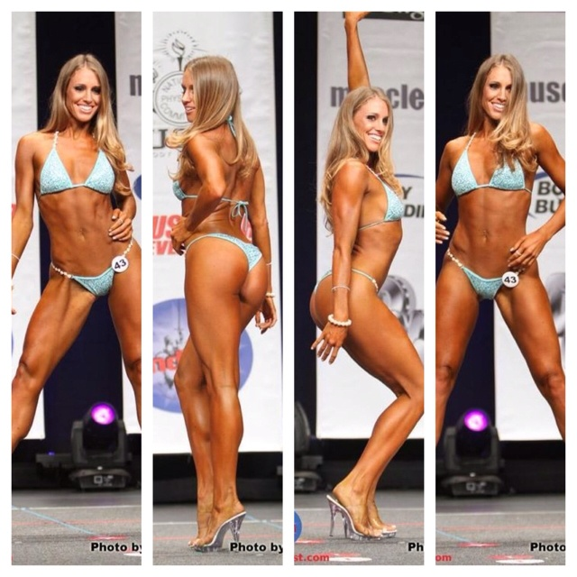 I'm adding the goal of getting fit enough to compete in a npc bikini competition to my bucket list. I want to look this hot at least once!