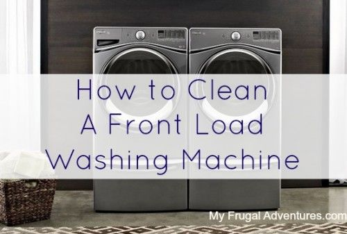 Step by step directions for cleaning a front load washing machine. Super useful...*Good comments/suggestions at the end of the article, too, like using vinegar as a fabric softener, as I already do, which helps the washer smell issue.