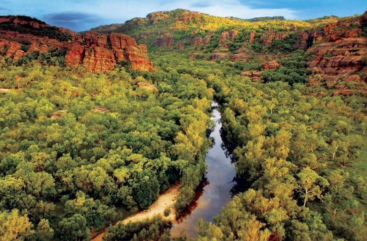 Kakadu National Park is located in the Northern Territory of Australia, 171 km east of Darwin. The name 'Kakadu' comes from an aboriginal floodplain language called Gagudju which was one of the languages spoken in the north of the park at the beginning of the twentieth century. #KakaduNationalPark #Travel #Beautifulplaces