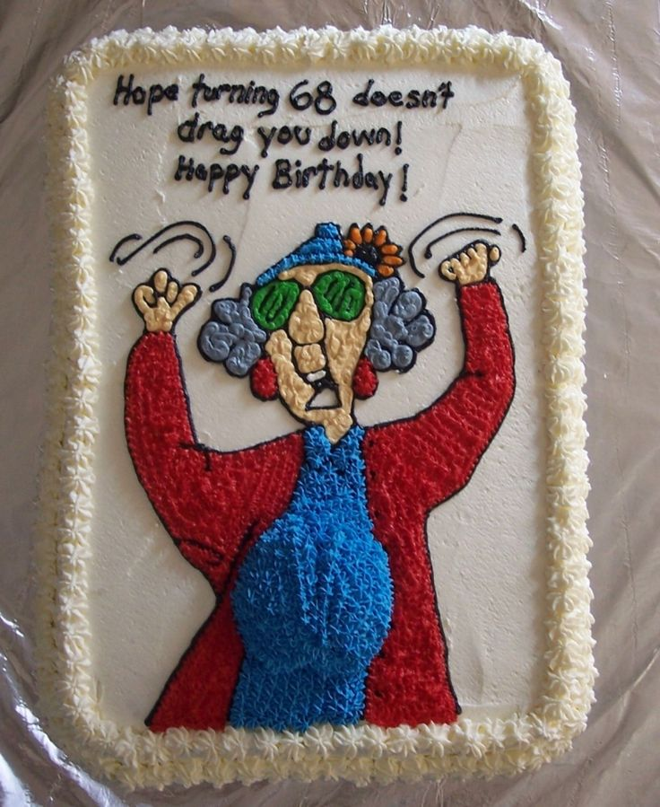 Birthday Cake Images With Message : 112 best Maxine images on Pinterest