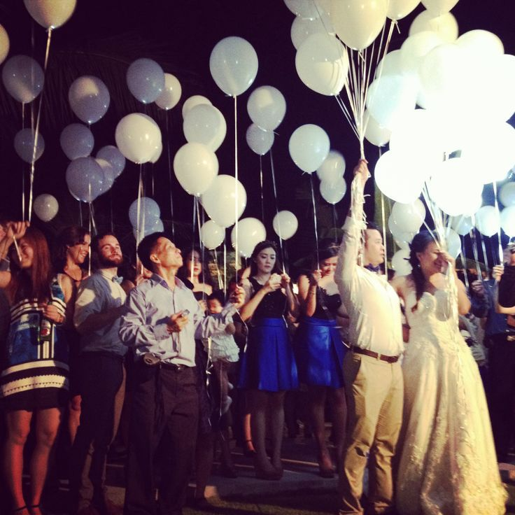 led balloon wedding - Buscar con Google