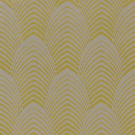 Deco from Harlequin #wallpaper #art deco #yellow