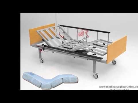 Elektrikli Hasta Karyolası (Ergonomik Korkuluk-2 Motorlu)