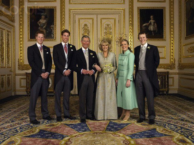 The wedding of the Prince of Wales et Camilla Parker Bowles- Avril 2005