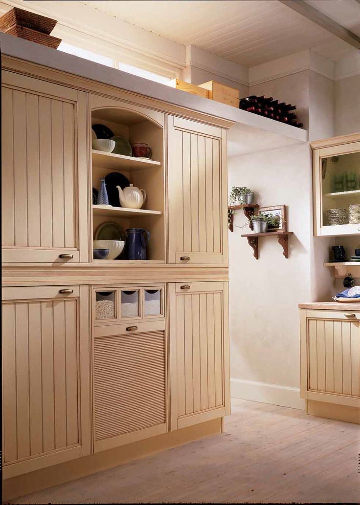Beautiful Cabinetry in this #Country #Kitchen by #Eurocasa, make a feature out of storage.