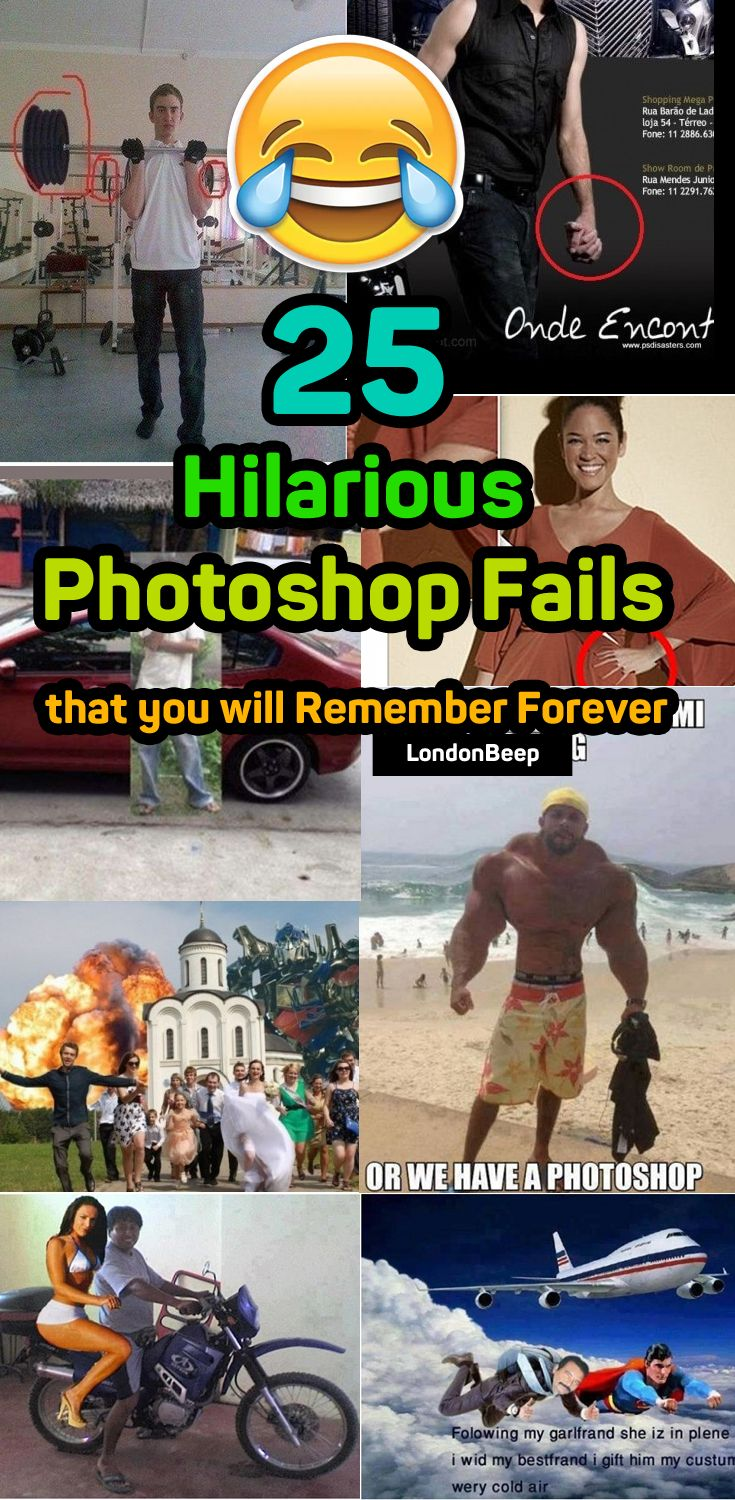 25 Hilarious Photoshop Fails that you will Remember Forever  #funny #hilarious #photshop #fail