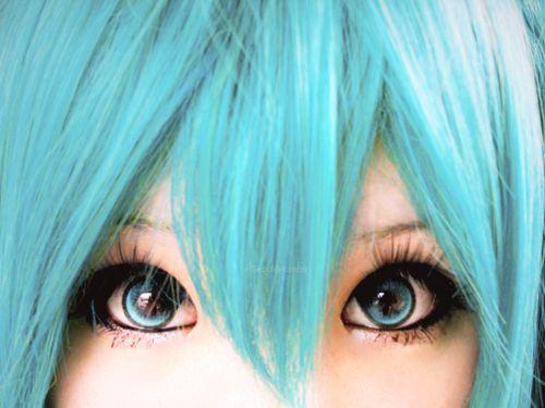 Hatsune Miku Cosplay Eyes