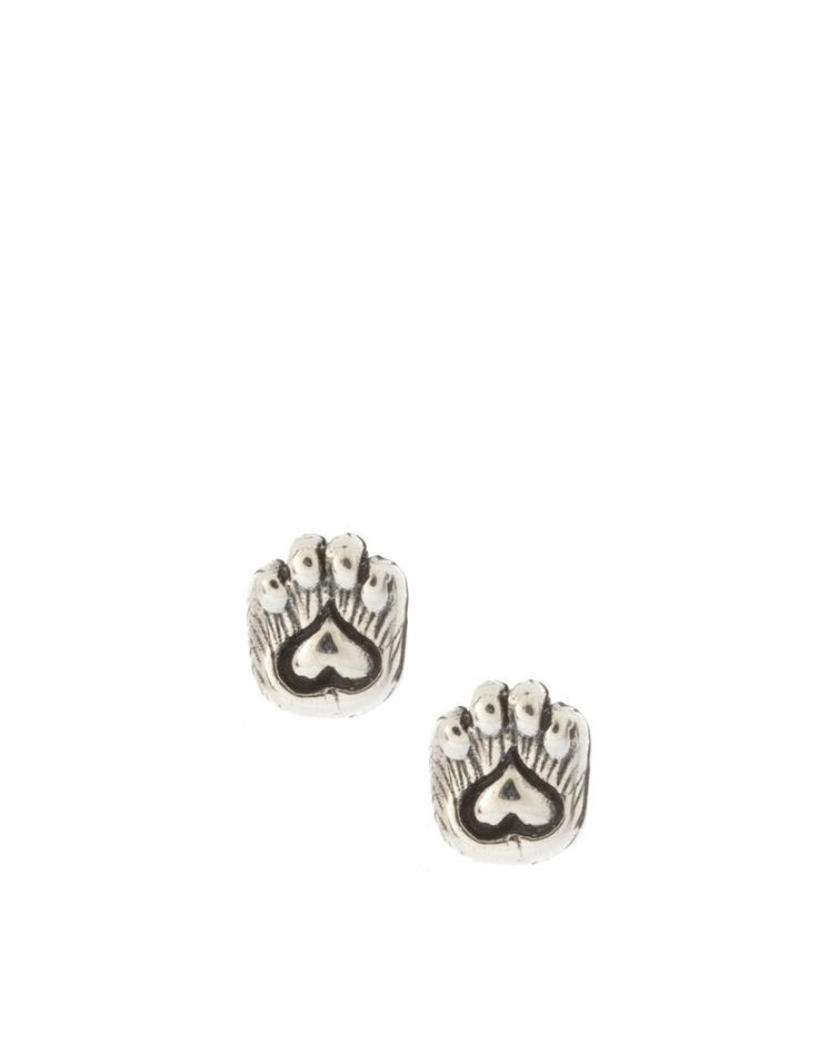 Zoe & Morgan Cat Paw Earrings