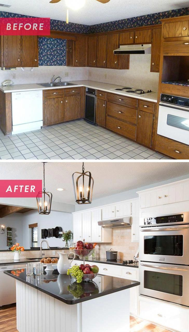 Kitchen Remodeling Project With Before And After Photos Presenting A Great Source O Kitchen Remodel Small Kitchen Remodeling Projects Small Kitchen Makeovers