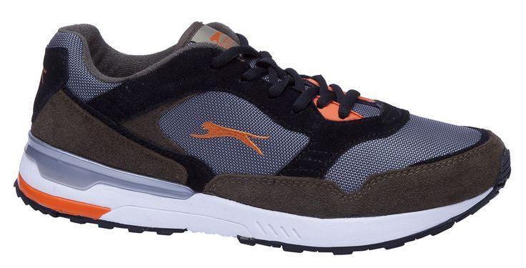 Slazenger SA25LE020-580 LORIB Siyah Erkek Günlük Spor Ayakkabısı