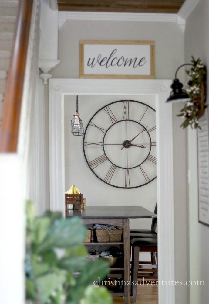 Best 25 Farmhouse Wall Clocks Ideas On Pinterest Barn
