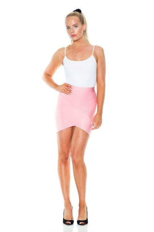 Light Pink Bandage Skirt – Dressy