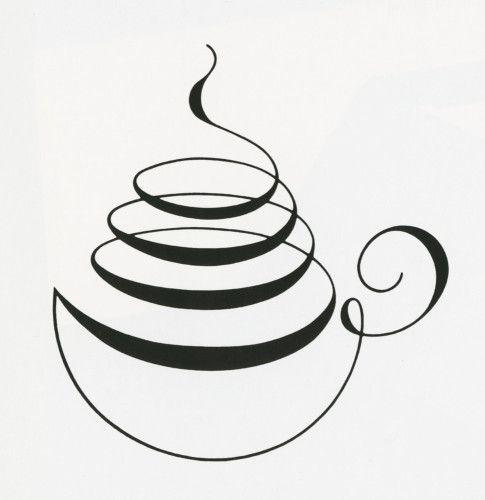 Love this simple coffee design