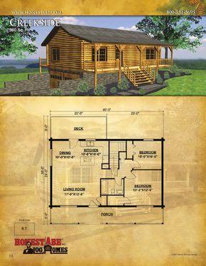 Honest Abe Log Homes, Floor Plan Catalog