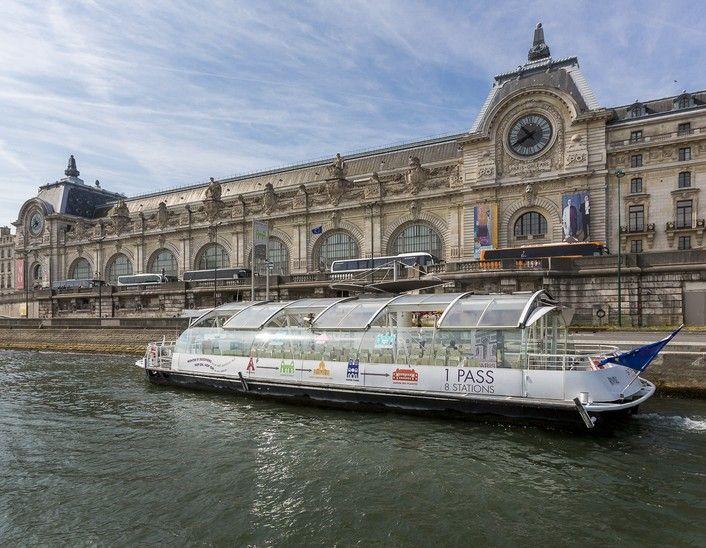 Batobus Paris - Navettes fluviales sur la Seine
