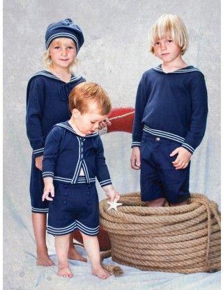 MeMini Barneklær - Hugo Sailor Sweater - Guttelus