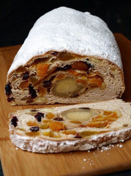 Stollen au massepain Plus