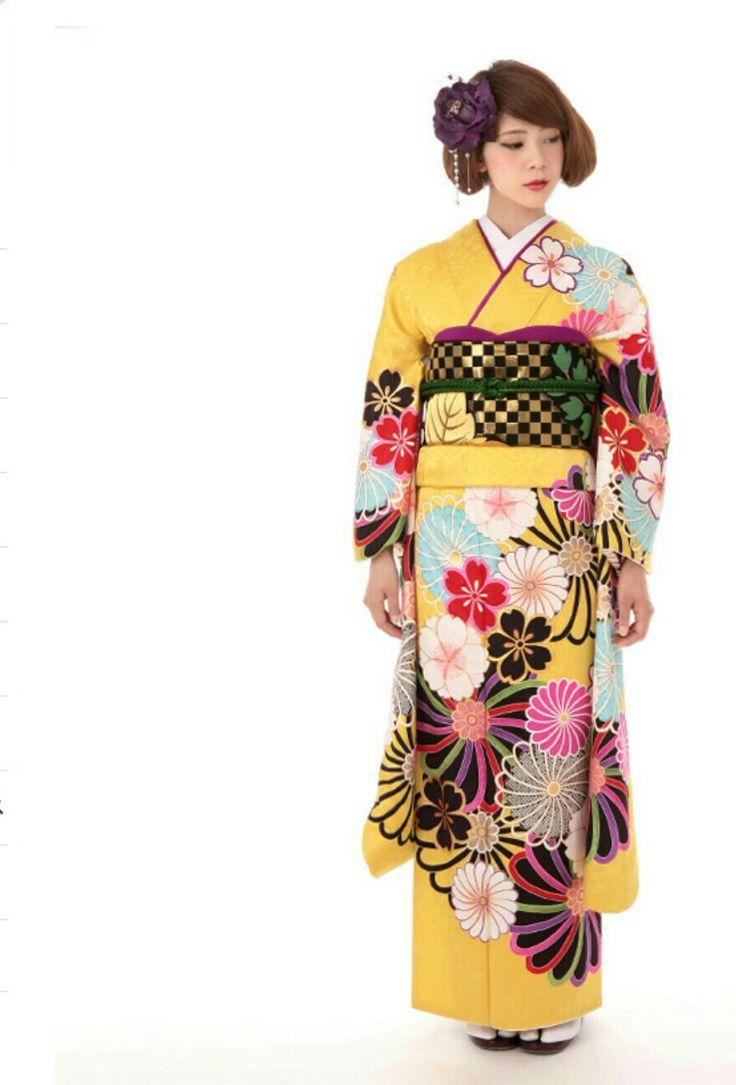 #成人式 着物 振袖 /kimono furisode