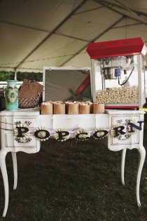 Kinda liking this idea - good snack for between ceremony and reception