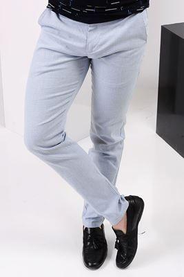 Detayları Göster Klasik Cep Açık Mavi Pantolon