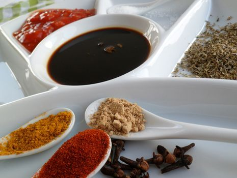 Stevia Marinade voor vis