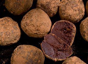 orange marmalade truffles. | kitchen stories | Pinterest