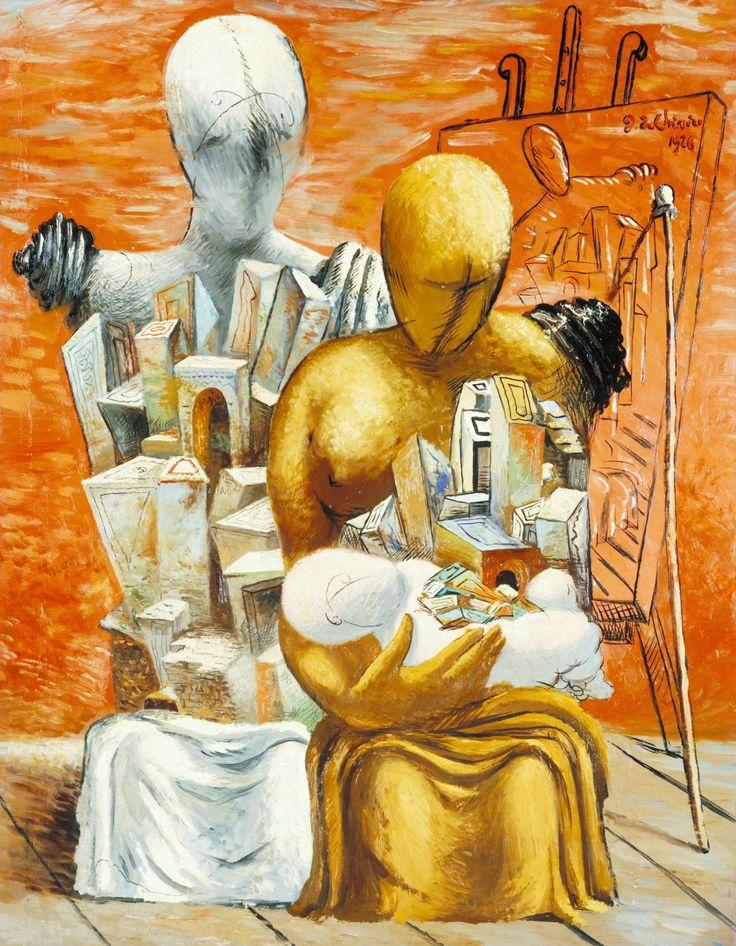 GIORGIO DE CHIRICO. The Painter's Family. 1926.