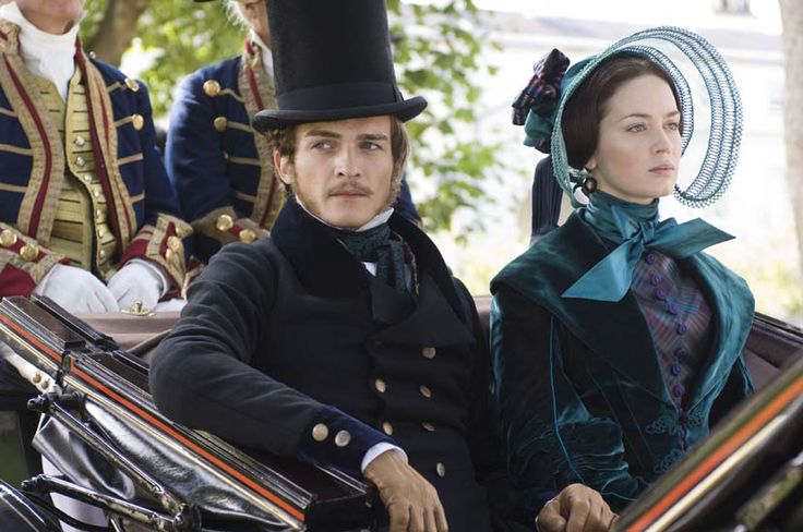 Rupert Friend and Emily Blunt in The Young Victoria. Costumes designed by Sandy Powell. The Magic of a Drool Worthy Costume
