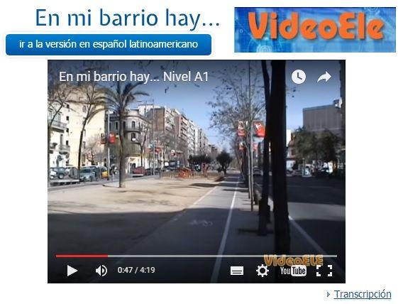 Repaso y práctica: vídeo sobre la ciudad