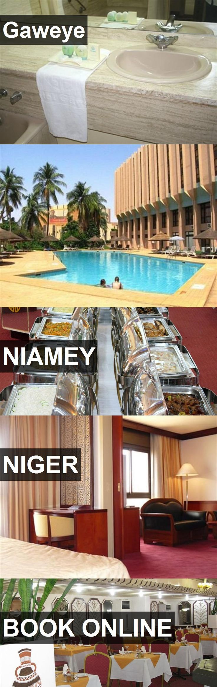 Hotel Gaweye in Niamey, Niger. For more information, photos, reviews and best prices please follow the link. #Niger #Niamey #travel #vacation #hotel