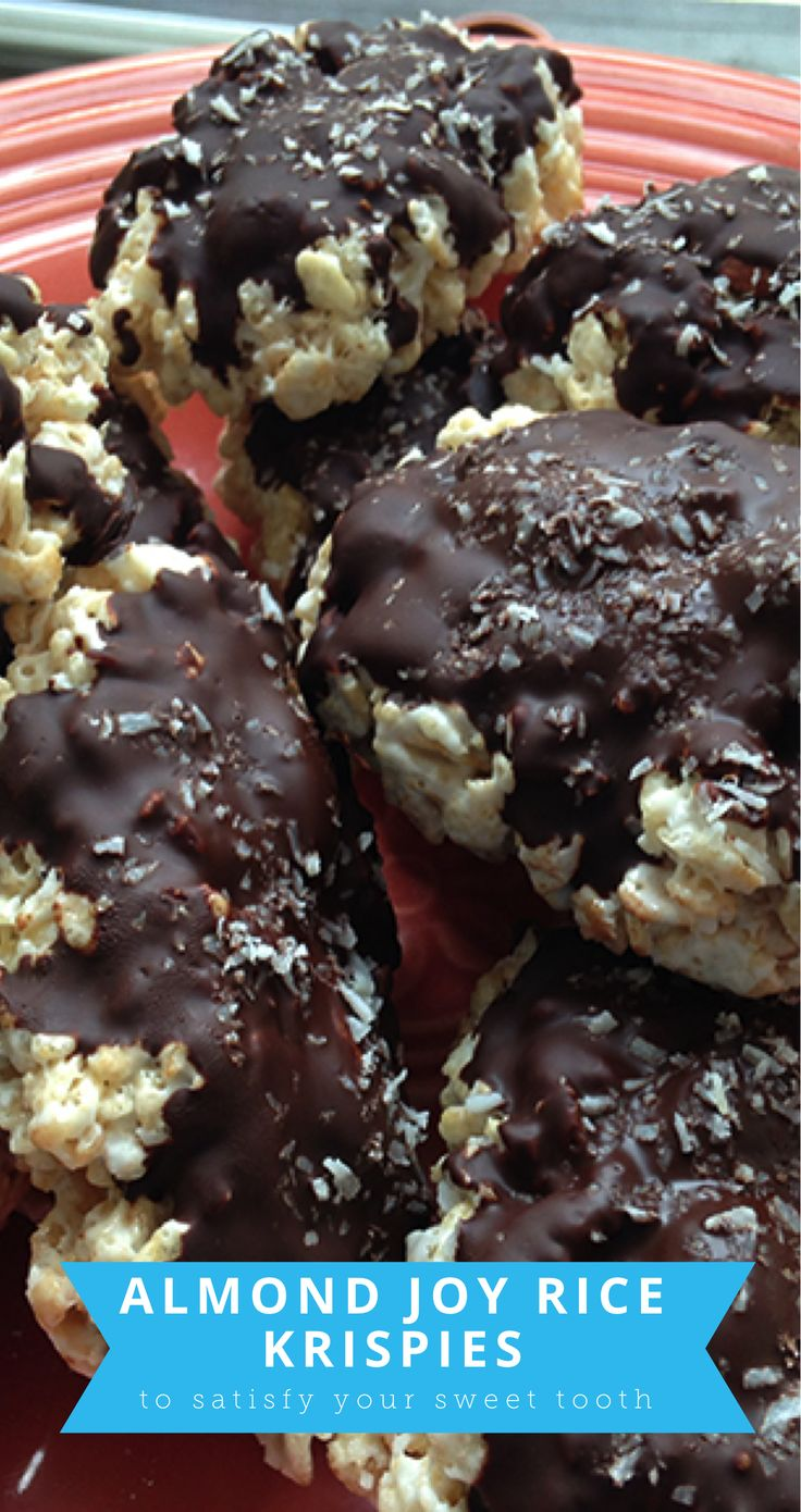 How to Make Almond Joy Rice Krispies (With images ...