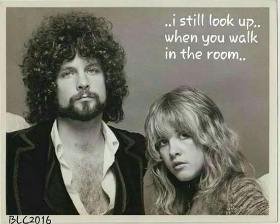 Lindsey Buckingham and Stevie Nicks.  Love them!