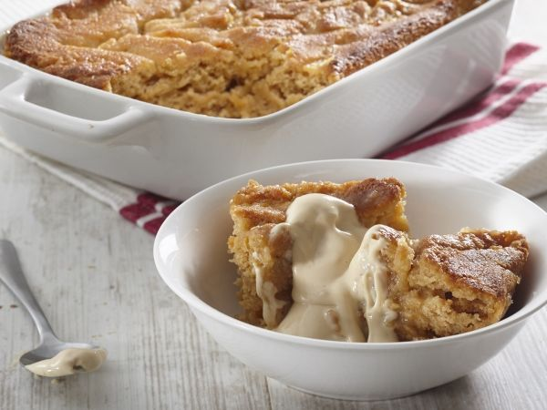 Perfect for autumn nights! Caramel pudding