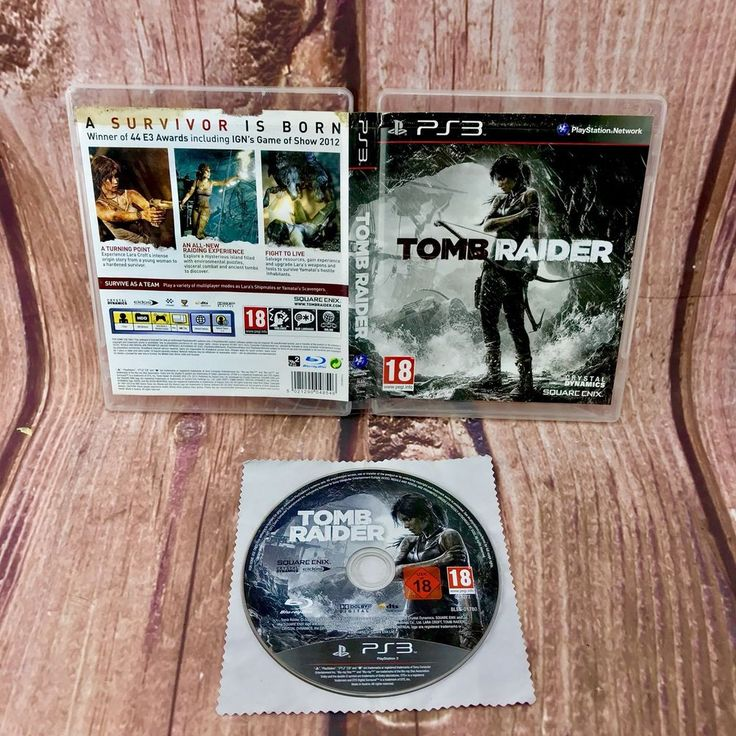 Tomb Raider Sony PlayStation 3 Ps3 video Game Gift 🎁 18+ survival team work vgc