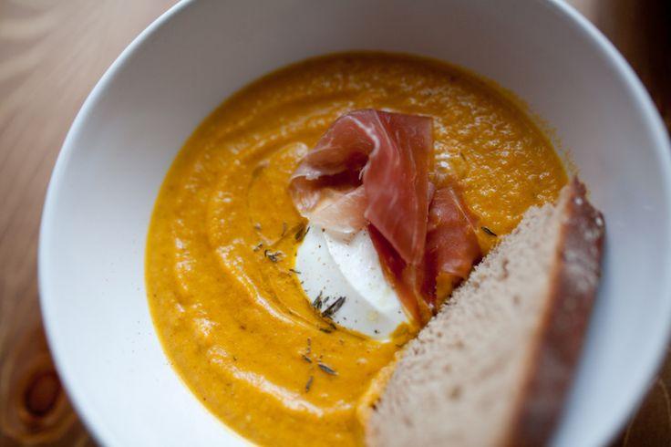 Polévka z červené čočky--Red lentil soup