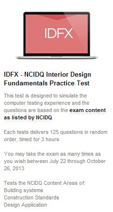NCIDQ Exam IDFX Prep Course And Practice Tests
